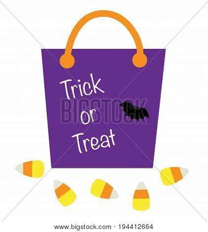 Happy Halloween Trick or Treat Goodie Bag