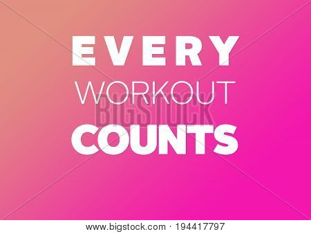 Fitness mmotivation quote for your better workout