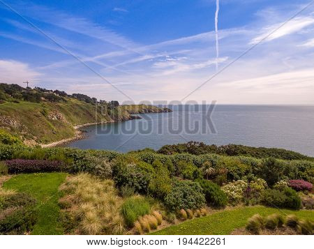 Howth Head in Dublin, Dublin Bay coastline