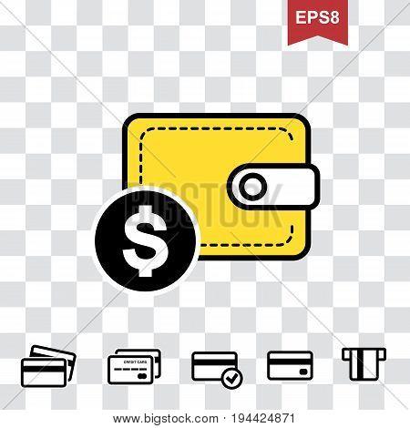 Wallet Or Pocketbookicon