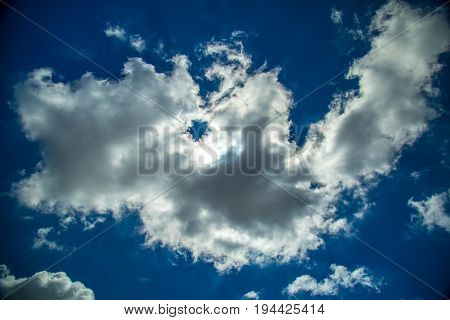 a cloud oxygen, ozone, outdoor, nature, light, meteorology