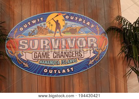 LOS ANGELES - MAY 24:  Survivor Game Changers Atmosphere at the
