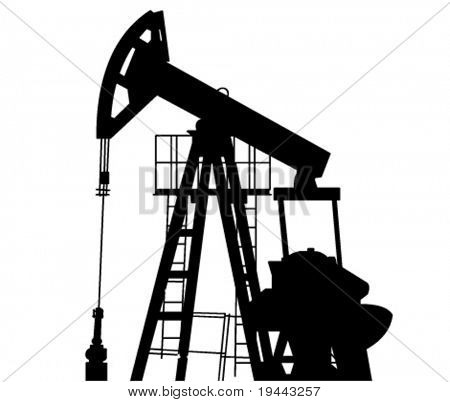 Oil Pump in Vector Art