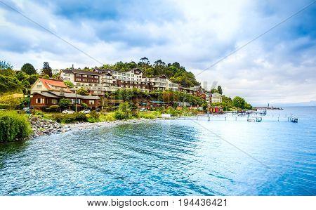 Beautiful Seaside With Houses