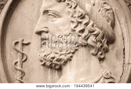 Asclepius (Greek god of health and medicine)