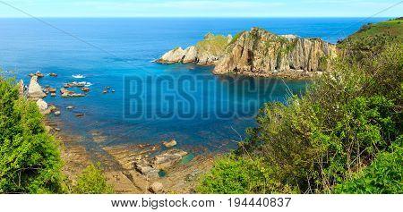 Atlantic Ocean Coastline (spain).