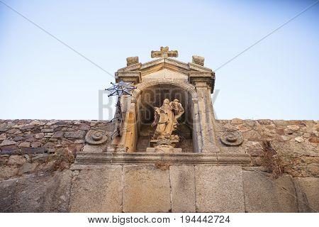 Our Lady of the Star Arco de la Estrella Caceres Extremadura Spain