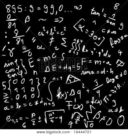 Math formular in vector art