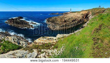 Pancha Island Coastline (spain).