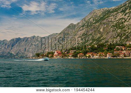 View Of Bay Of Kotor