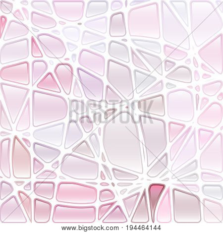 abstract vector stained-glass mosaic background - light violet and purple