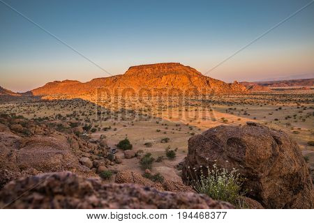 Rock formations at Damaraland Namibia, South of Africa