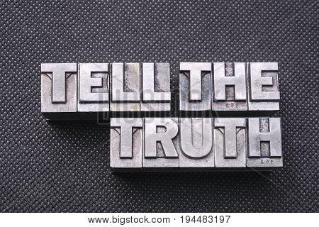 Tell The Truth Bm