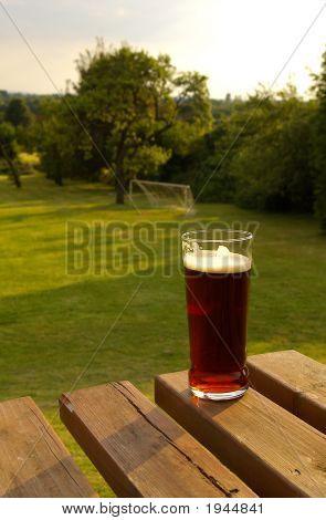 English Pub Beer Garden