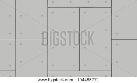 Wall Acoustic Panels , 3D Render Interior Design, Mock Up Illustration