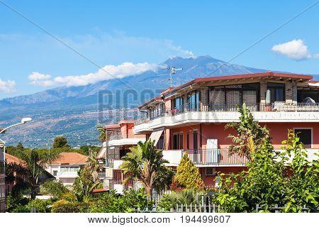 Residential Buildings In Giardini Naxos And Etna
