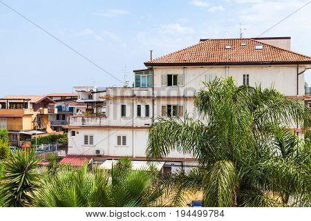 Residential Houses In Giardini Naxos Town