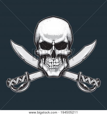 Pirates Skull And Swords
