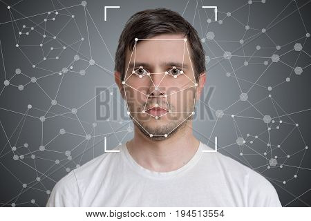 Face Detection And Recognition Of Man. Computer Vision And Artif
