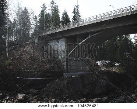 Dark depressive bridge background depression, bridge, black, sad,