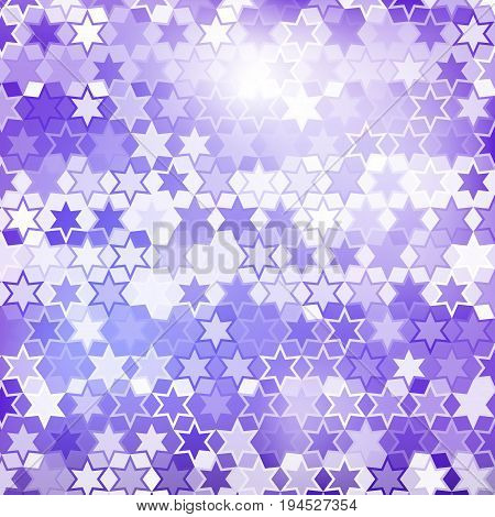Purple star pattern abstract style for web illustration