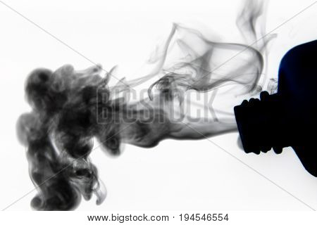 Smoke design / Smoke is a collection of airborne solid and liquid particulates and gases emitted when a material undergoes combustion