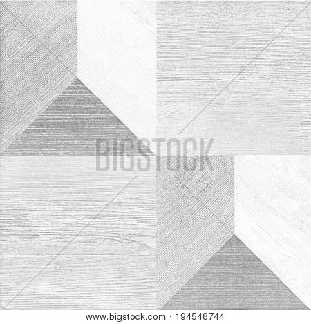 White Tiles Abstract Background