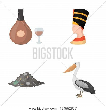 business, history, antiquity and other  icon in cartoon style.fauna, ecology, trade, icons in set collection