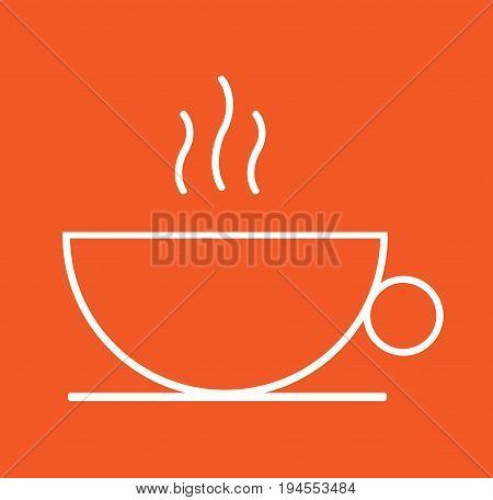 Vector coffee mug, coffee mug icon, coffee mug, idea.