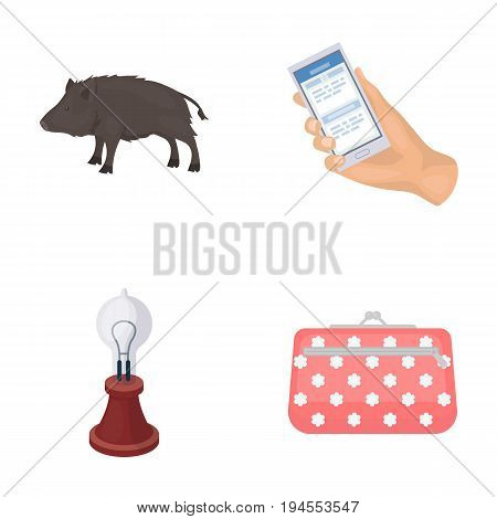 ecology, fauna, technologyand other  icon in cartoon style.money, accessories, business, icons in set collection