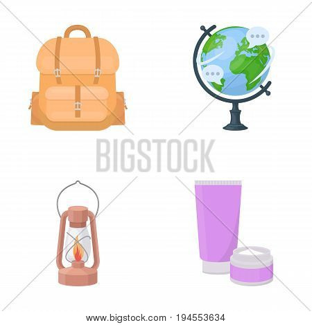 business, history, geography and other  icon in cartoon style.cosmetics, medicine, tourism, icons in set collection
