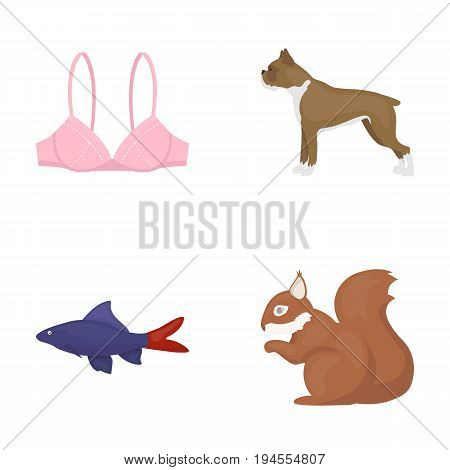 nature, fauna, ecology and other  icon in cartoon style. forest, nuts, business icons in set collection.