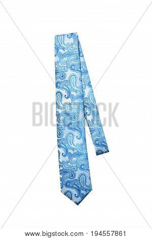 Paisley Blue Tie