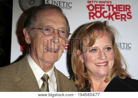 LOS ANGELES - APR 10:  Bernie Kopell, wife at the