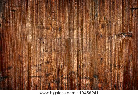 Old and weathered wooden wall texture background