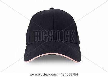 Cap isolated on white background. Baseball cap
