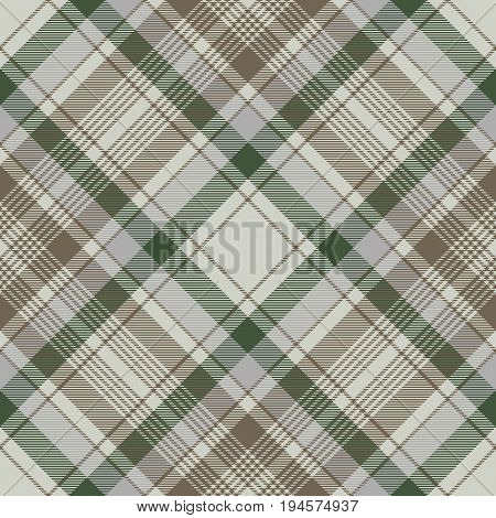 Traditional check plaid seamless pattern. Vector illustration.