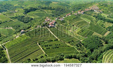 Goriska Brda From Above