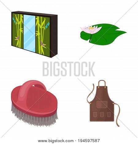 tourism, hygiene, art and other  icon in cartoon style. textile, business, trade, icons in set collection