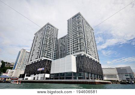 Residential Condominium Under Construction