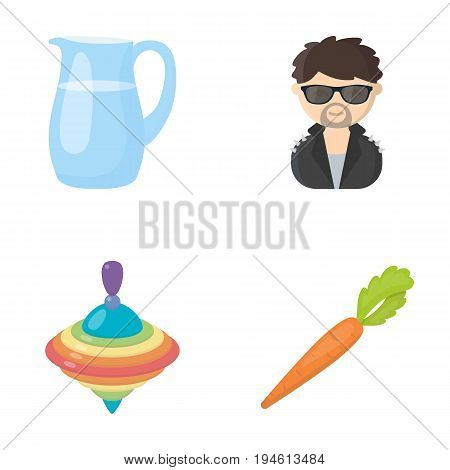 business, trade, ecology and other  icon in cartoon stylevegetable, useful, style, . icons in set collection.