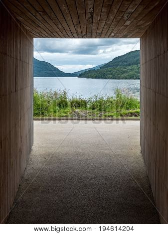Inveruglas Pyramid Viewing Platform, Loch Lomond, Scotland