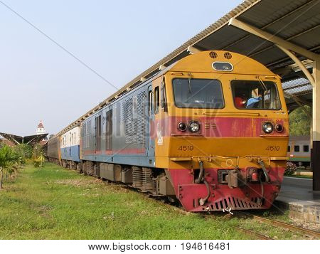 Hitachi Diesel Locomotive No 4519.