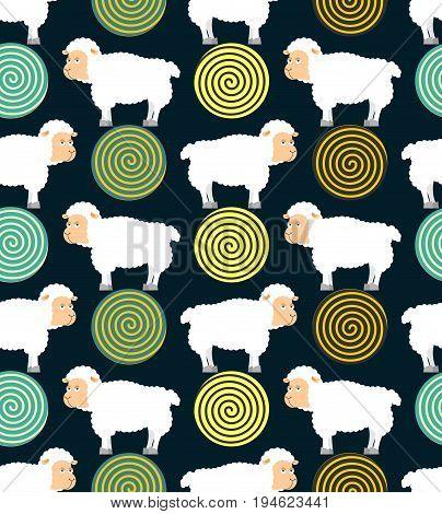 Hypnotic Sheep For Sleep Pattern. Hypno Farm Animal