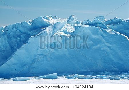 Antarctica, Weddell Sea, Riiser Larsen Ice Shelf