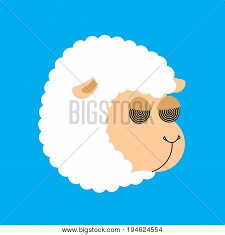 Hypnotic Sheep For Sleep. Hypno Farm Animal