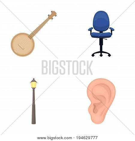 business, medicine, concert and other  icon in cartoon style. human, rumor, information, icons in set collection.