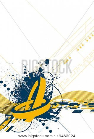 Vector Abstract - change the colors and size, make it yours