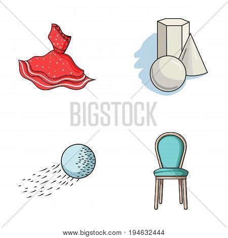 buy, sport and other  icon in cartoon style.art, furniture icons in set collection.