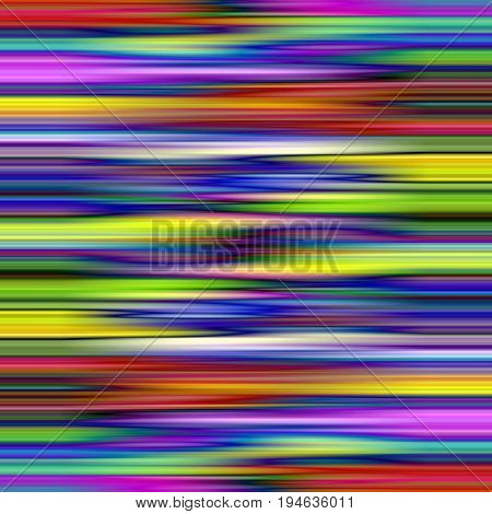 Vibrant color blur stripes abstract pattern background.